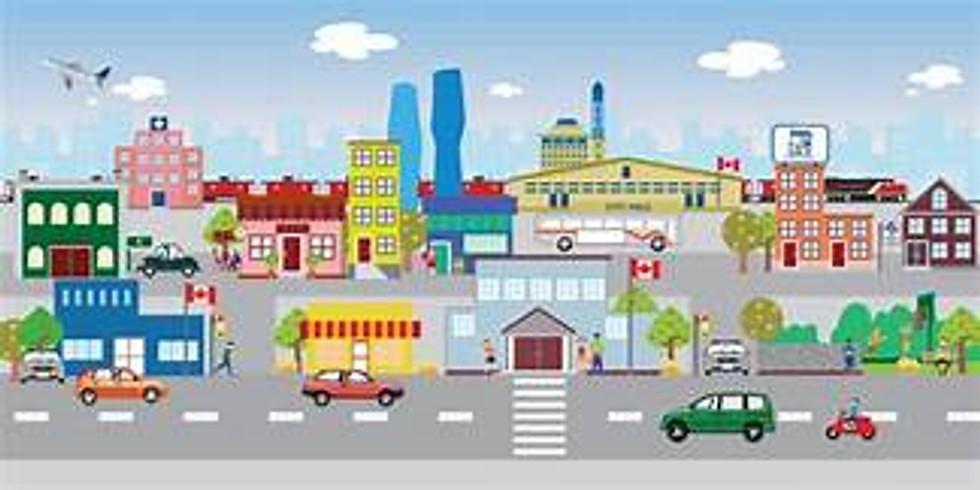 STEM and Art for the homeschooler-city scene