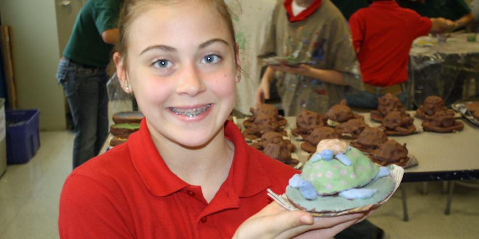 Clay Adventures for the homeschooler- turtles