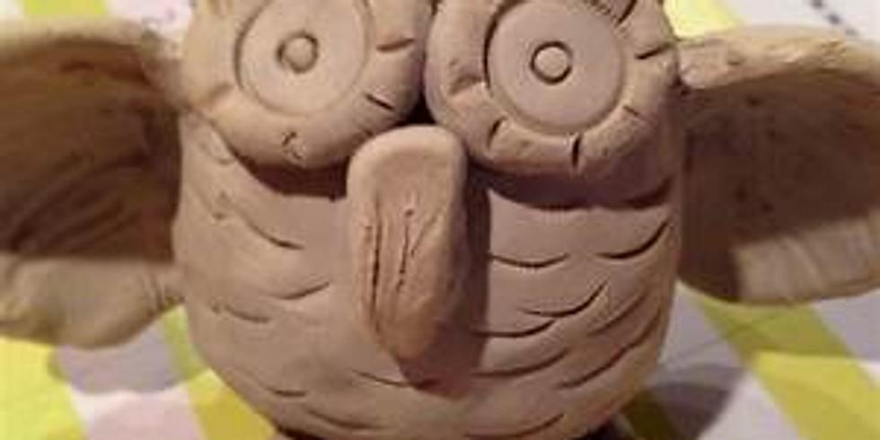 Clay Adventures for the homeschooler- owls