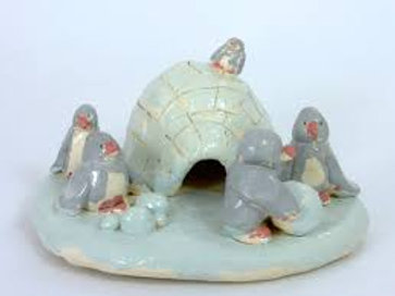 Pottery Wheel/Clay-Penguin and Igloo/1:30-2:45 p.m./December 3rd