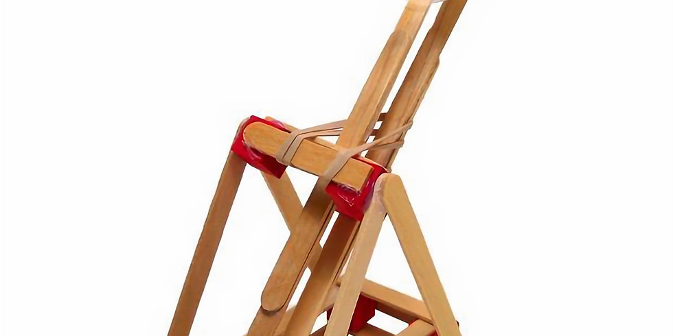 Innovative and Recycled Art for the homeschooler- recycled catapults