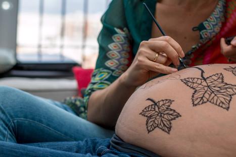 Belly painting Sevilla
