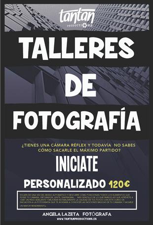 APRENDE FOTOGRAFÍA CON NUESTROS TALLERES DE INICIACIÓN