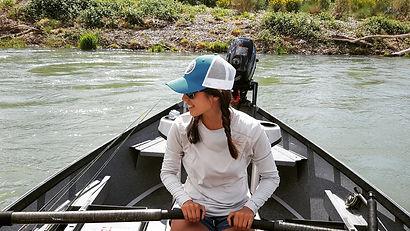 Kayla Katayama Drifting the Lower Sac