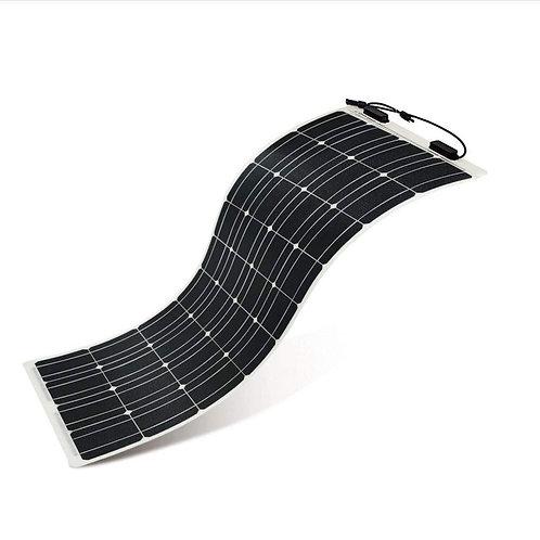 100 Watts 12/24 Volt Adjustable Monocrystalline Silicon Solar Panel