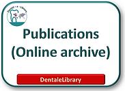 Dental e library Logo Publish here Archi