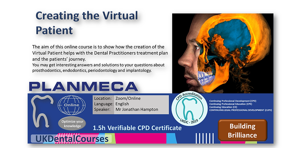 Creating the Virtual Patient 22Sep21