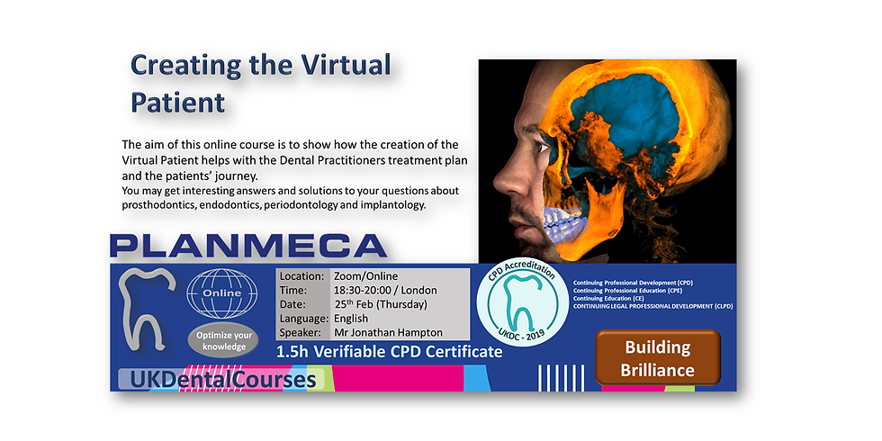Creating the Virtual Patient (25 Feb 21)