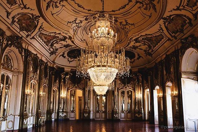 Palácio de Queluz, sala do trono
