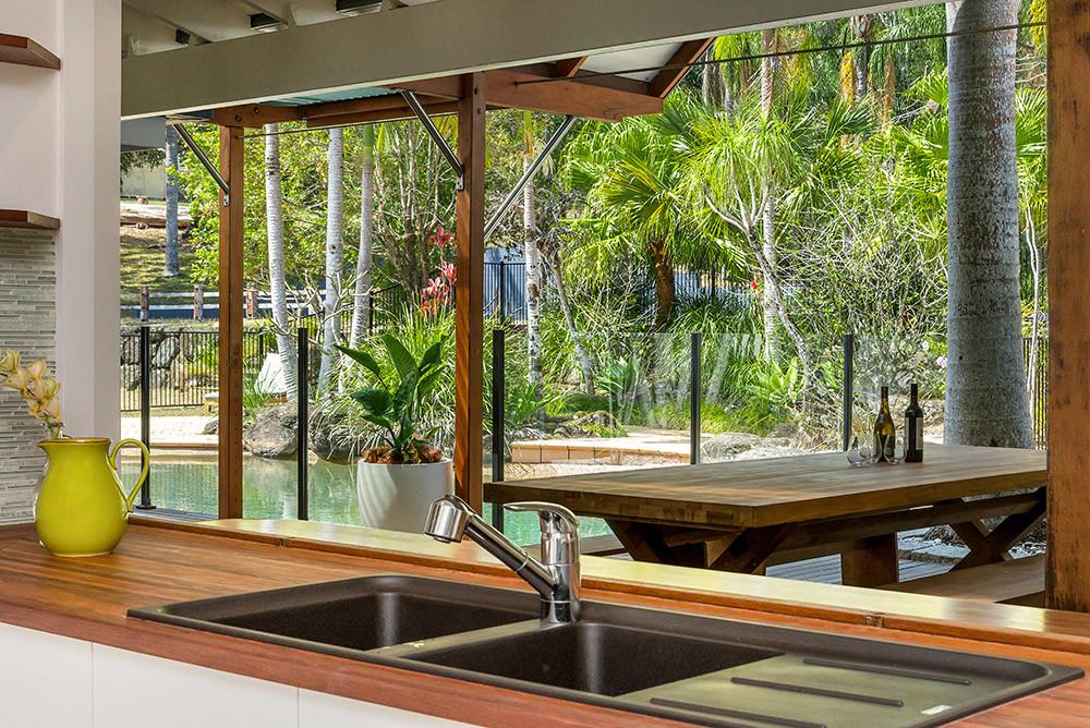 Relax poolside at Rockinghorse Estate