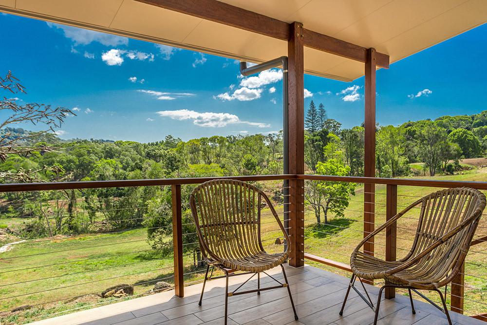 Balcony views at Rockinghorse Estate