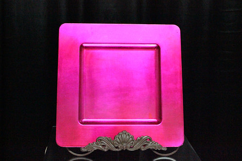 """Square Charger Plate 13"""" F257"""