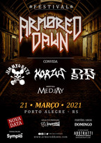 Armored Dawn Convida, festival com nomes de peso do rock nacional, remarcado...