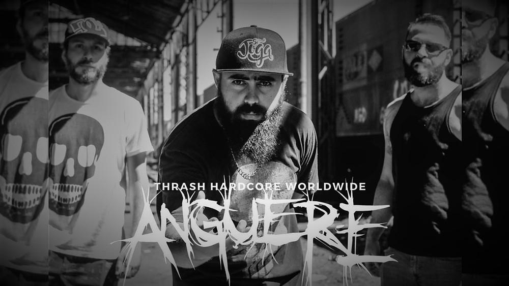 A banda Anguere confirma o lançamento de um novo vídeo para o final de junho. Confira!