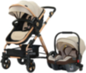yoyko luxury baby carriage, travel system baby carriage