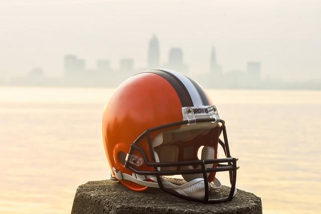 Cleveland Brown Helment - Erik Drost