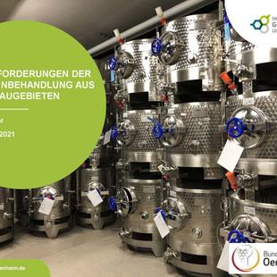 """BDO-Web-Seminar """"Herausforderungen der Jungweinbehandlung aus den Anbaugebieten"""""""