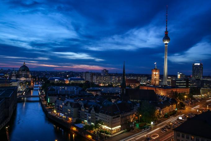 Berlin in full exposure