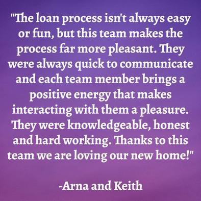 Arna & Keith