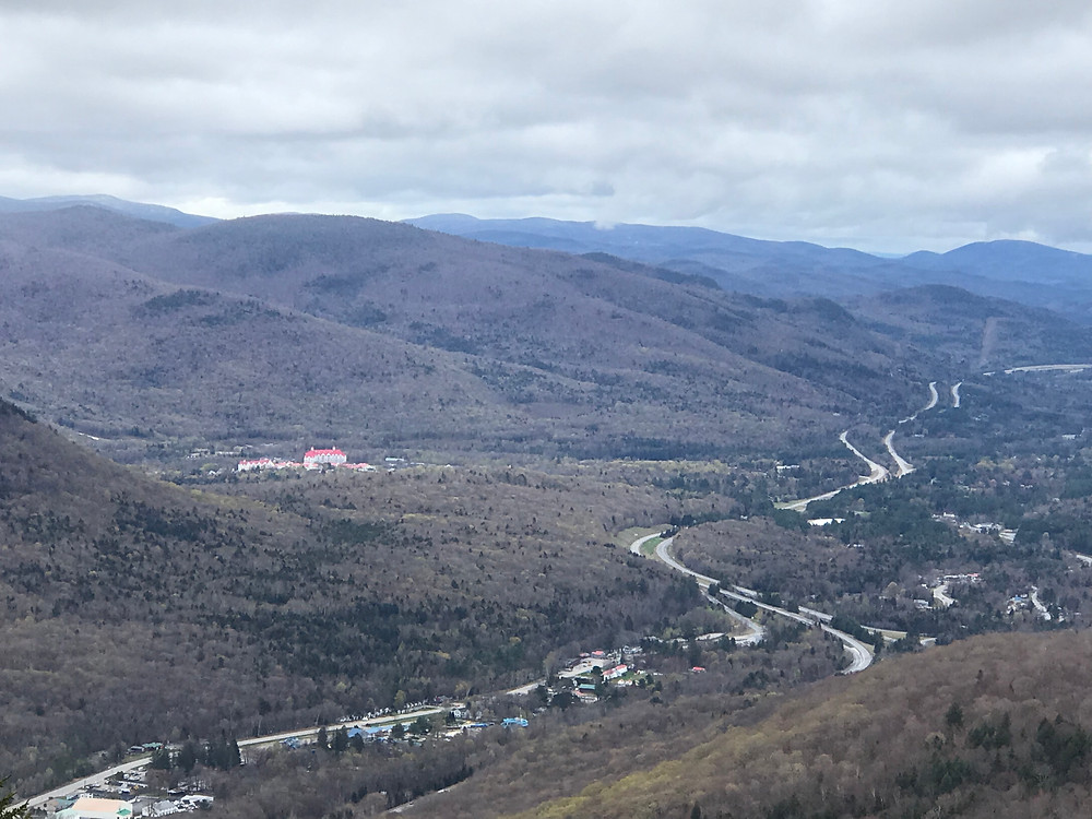 Lincoln, New Hampshire from Mount Pemigewasset