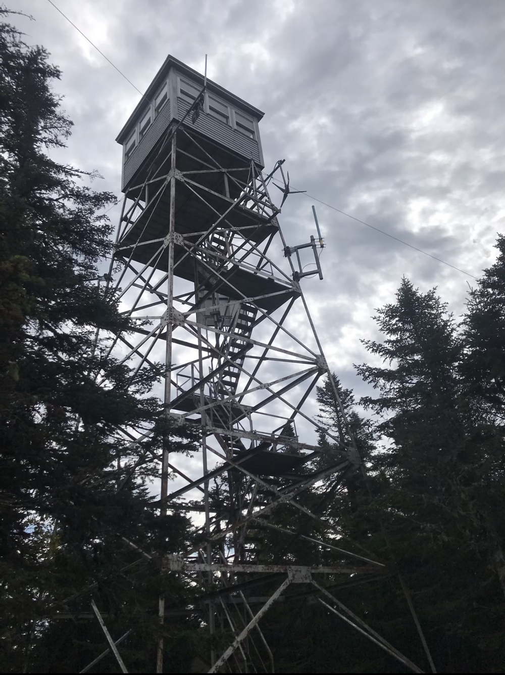Fire Tower on Mt. Magallowy