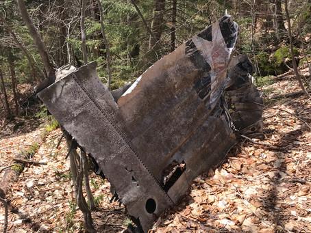 B18 Bomber Crash Site Via Walker Brook