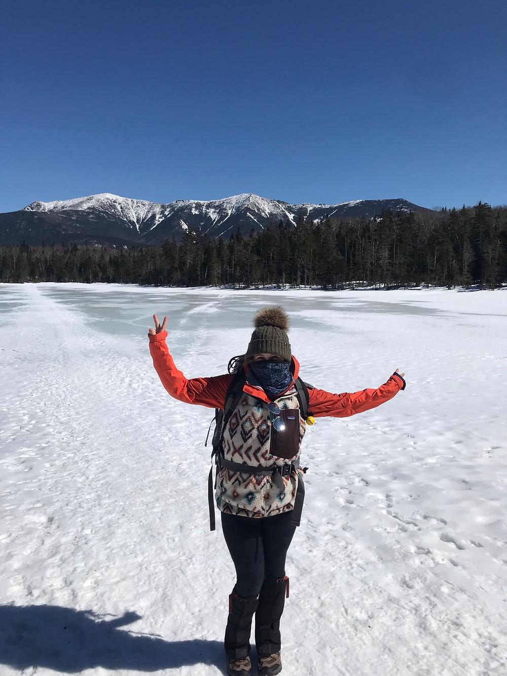 Me on Lonesome Lake