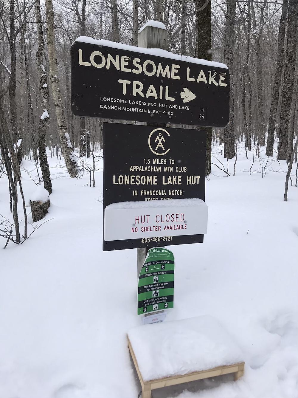 Lonesome Lake Trail Head