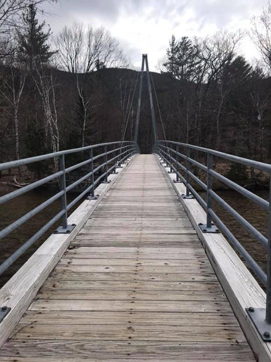 Bemis Bridge, Crawford Notch, New Hampshire, Hiking, Mt. Crawford, AMC