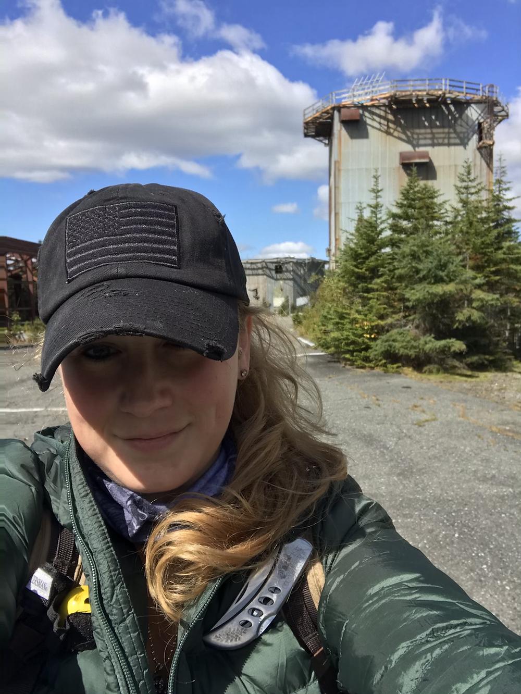 Me at the Radar Base