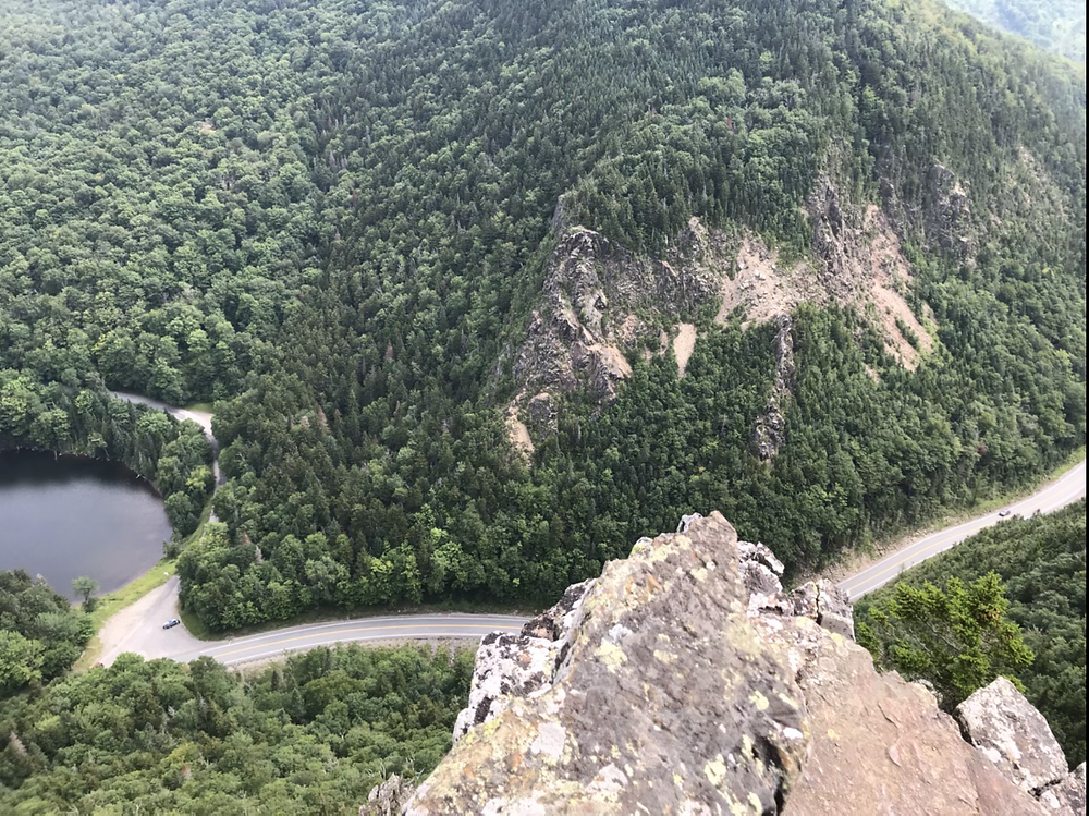 Looking over the edge