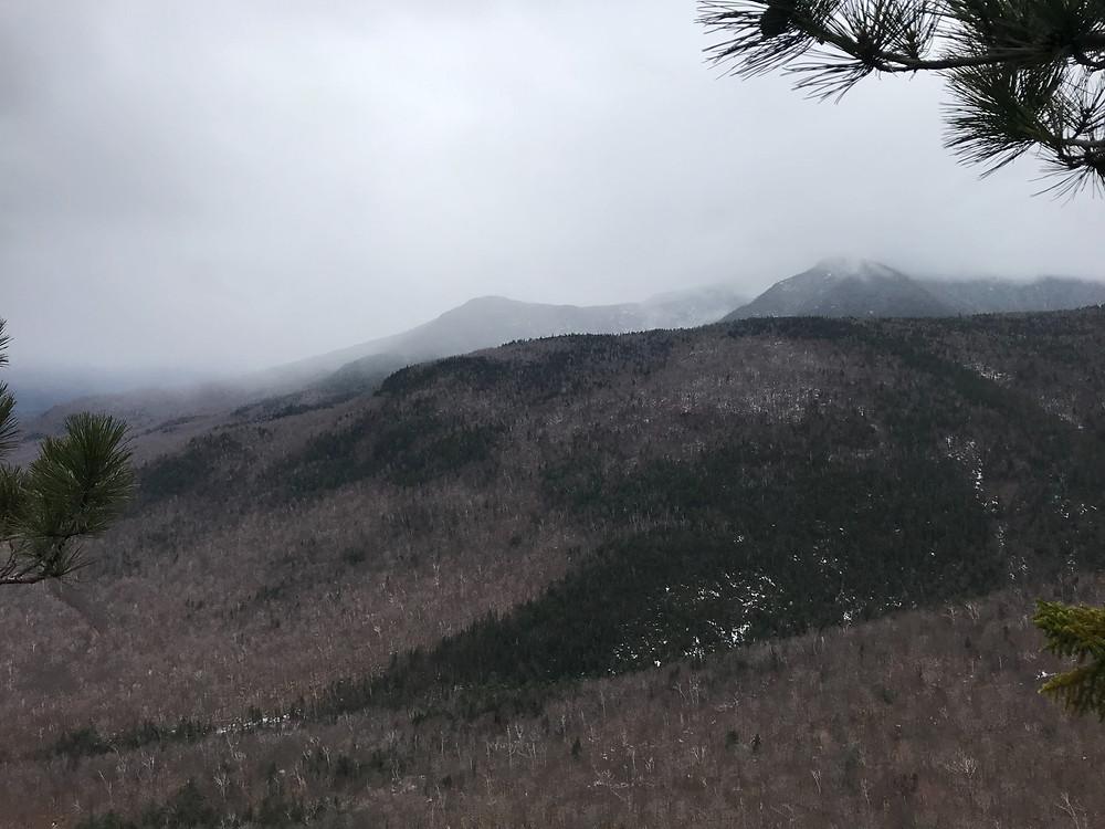 Frankenstein Cliffs, Crawford Notch, AMC, New Hampshire, Hiking