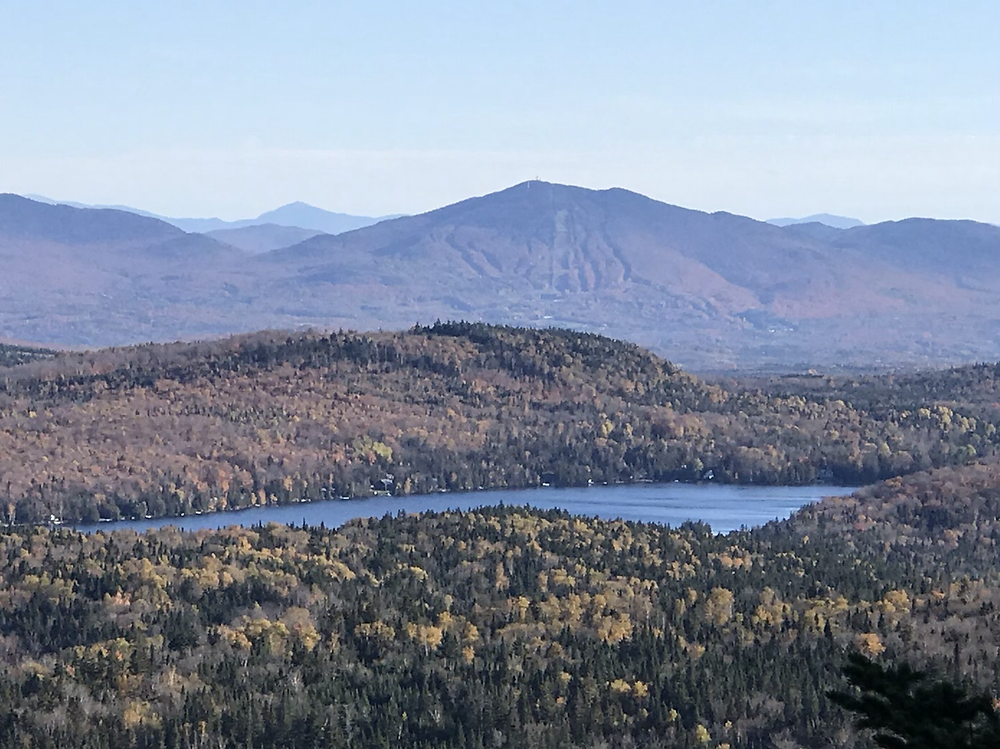 View of Burke Mountain from Haystack