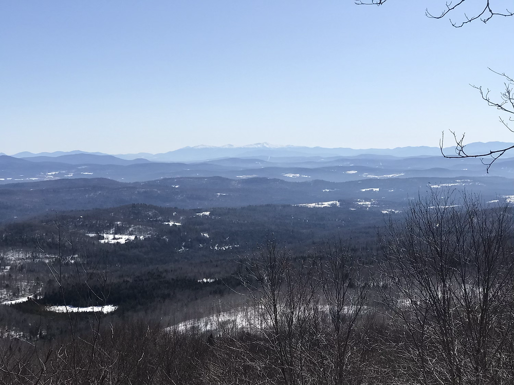 amazing view of the Presidentials