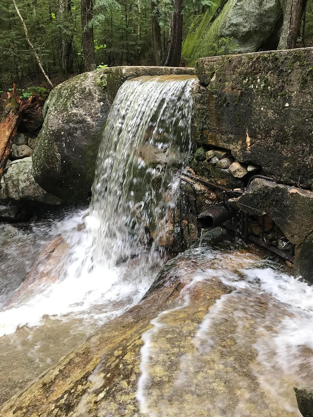 Water Fall Mount Pierce & Mizpah Hut Loop