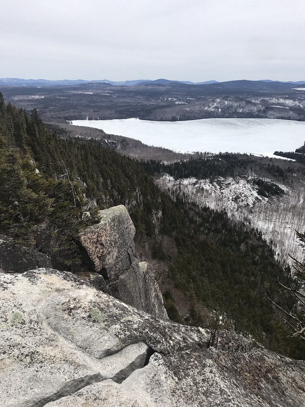 View from Brousseau Mountain