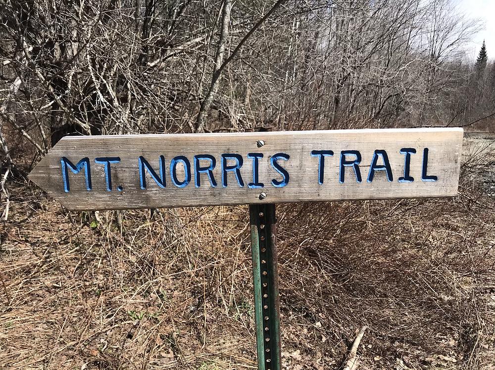 Mt. Norris trail head