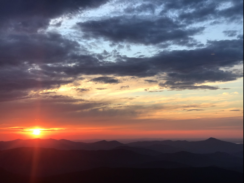 Sunrise at Mt. Carrigain
