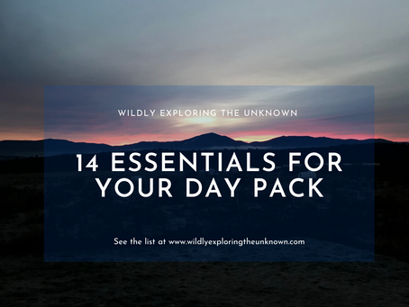 14 Essentials For Your Day Pack