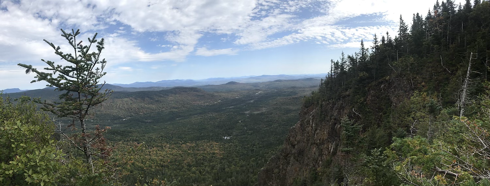 Panoramic view from Magallowy Mt.