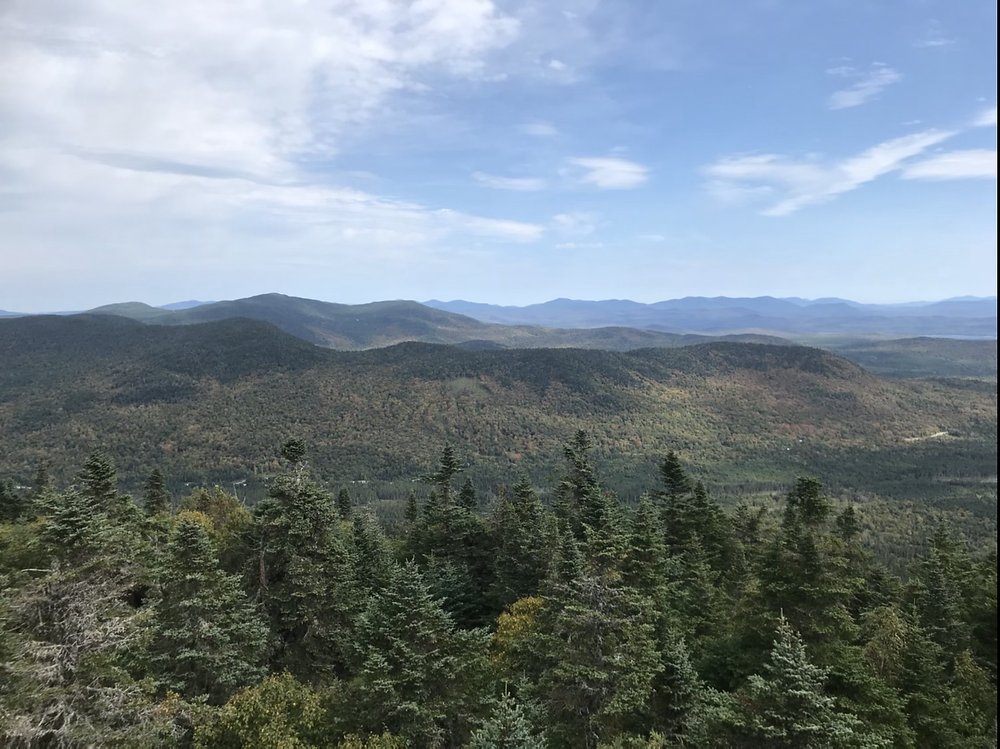 view from Magallowy Mountain