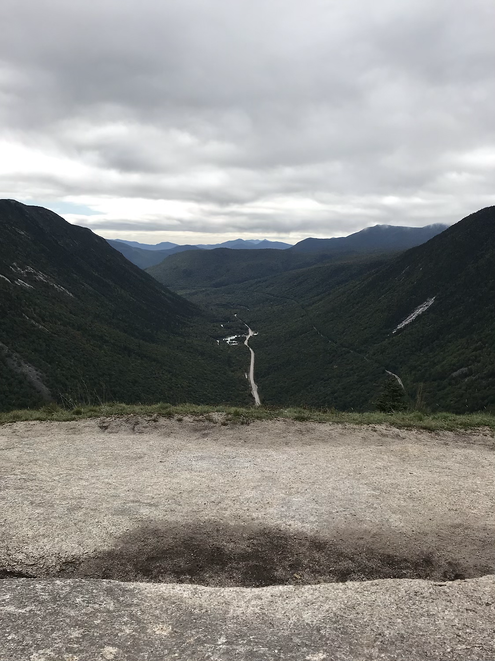 View from the top of Mt. Willard