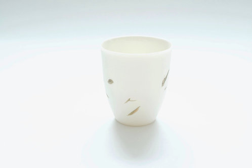 Katherine Glenday - Green leaves coffee cup