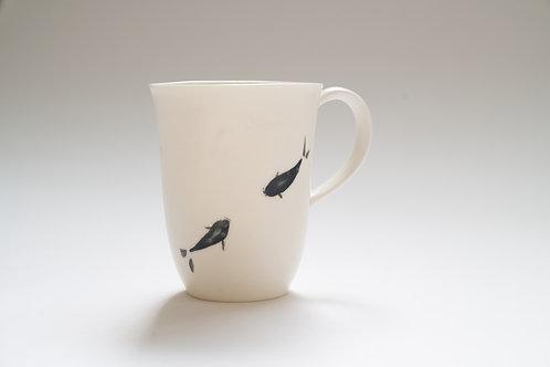 Katherine Glenday - Tea mug with fish