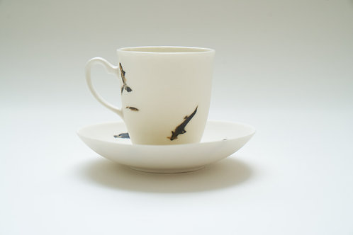 Katherine Glenday - Coffee cup and saucer