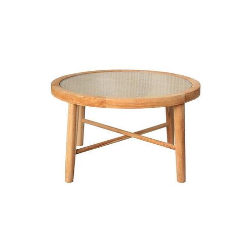 שולחן סלון עץ גושני