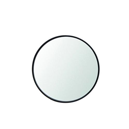מראה עגולה מסגרת שחורה