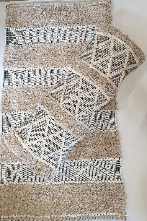שטיח כותנה בוהו