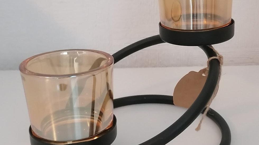 Centrepiece Iron Votive Candle Holder