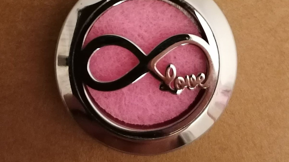 Aromatherapy Infinity Love Necklace & Romance Diffuser Oil